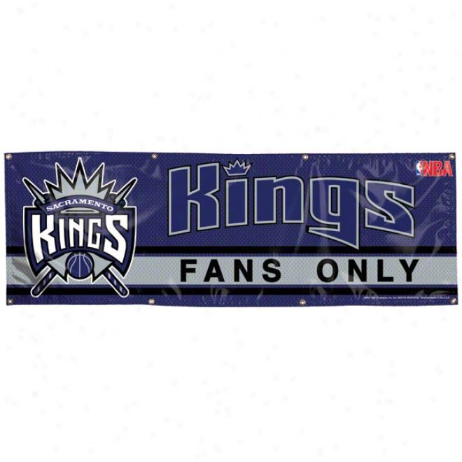 Sacramento Kings 2x6 Vinyl Banner