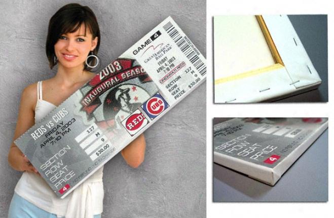 Sammy Sosa Chicago Cubs - 500th Hr - Sammy Sosa 500th Home Run Mega Ticket