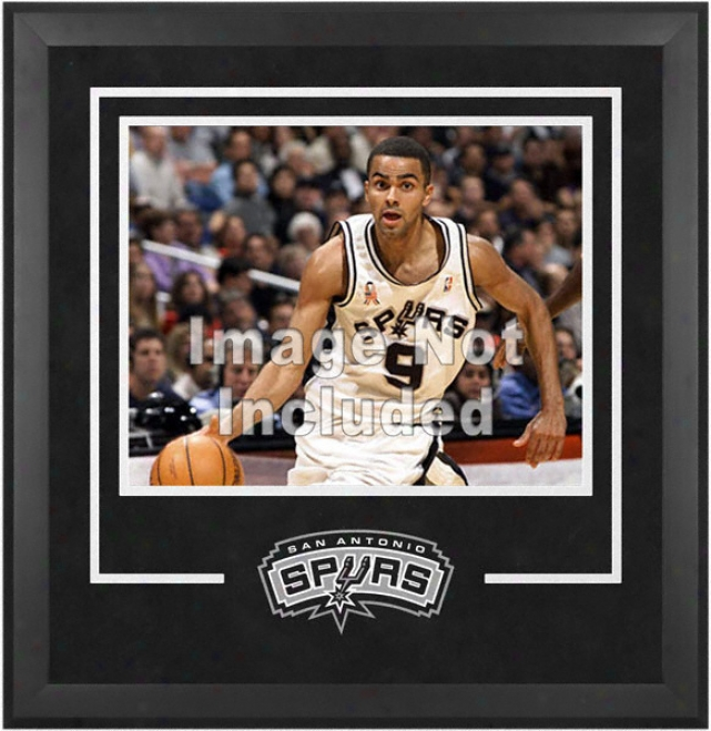 San Antonio Spurs 16x20 Horizontal Setup Frame With Team Logo