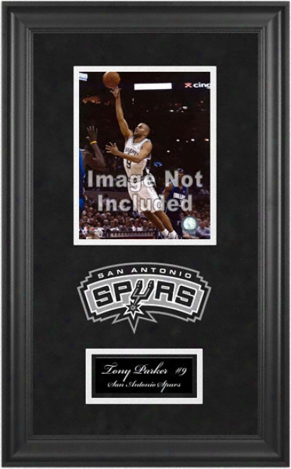 San Antonio Spurs Deluxe 8x10 Team Logo Frame