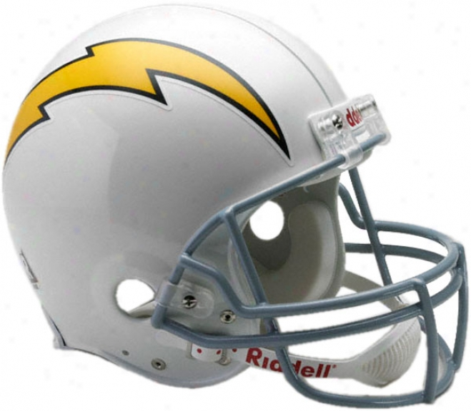 San Diego Chargers 1961-1973 Authentic Pro Line Riddell Throwback Abundant Size Helmet