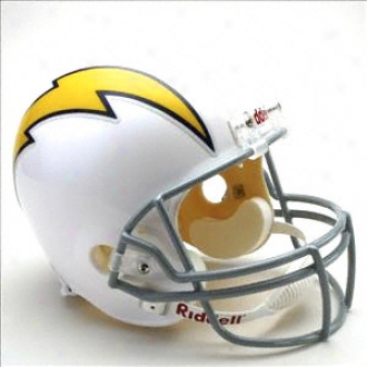 San Diego Chargers 1961-1973 Deluxe Replica Riddell Throwbacm Full Size Helmet