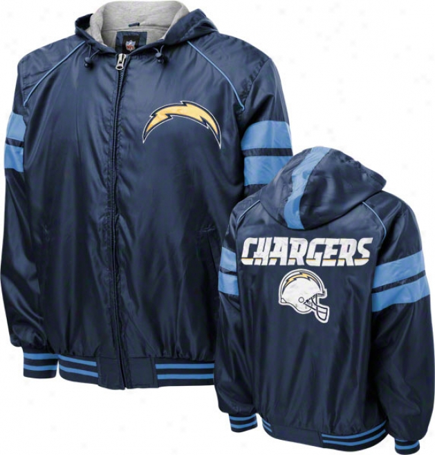 San Diego Chargers Dedication Full-zip Lightweight Jacket