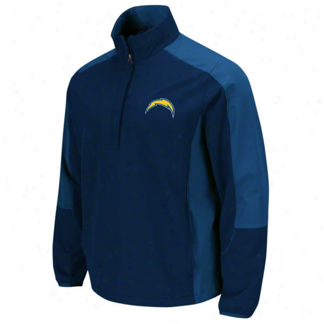 San Diego Chargers Determinarion Lightweight Performance Pull-over Jacket