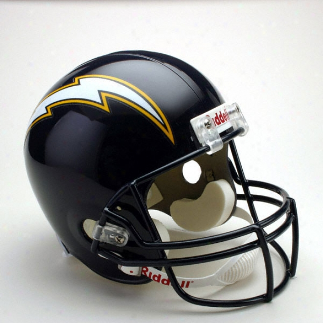 San Diego Chargers Throwback Deluxe Autograph copy Riddell Full Size Helmet