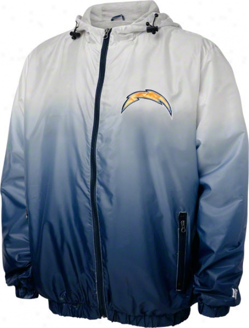 San Diego Chargers Victory Gradient Full-zip Lightweight Jacket