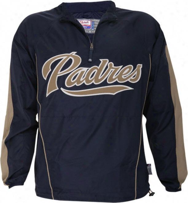 San Diego Padres Authentic Collection Cool Base Gamer Jacket