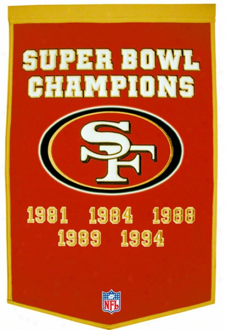 San Francisco 49ers Race of rulers Banner