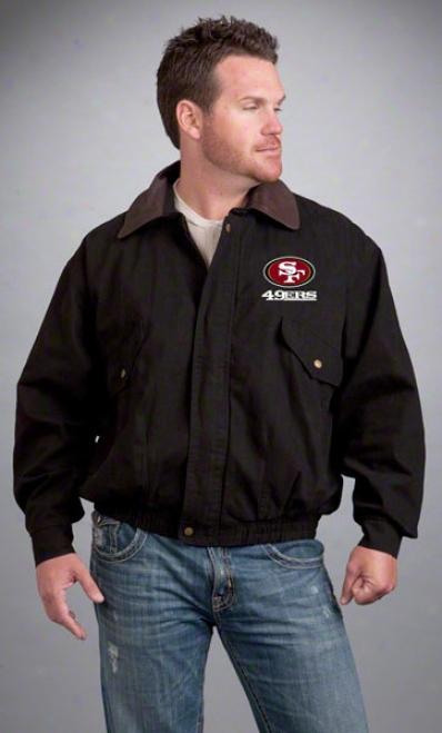 San Francisco 49ers Jacket: Dismal Reebok Navigator Jacket