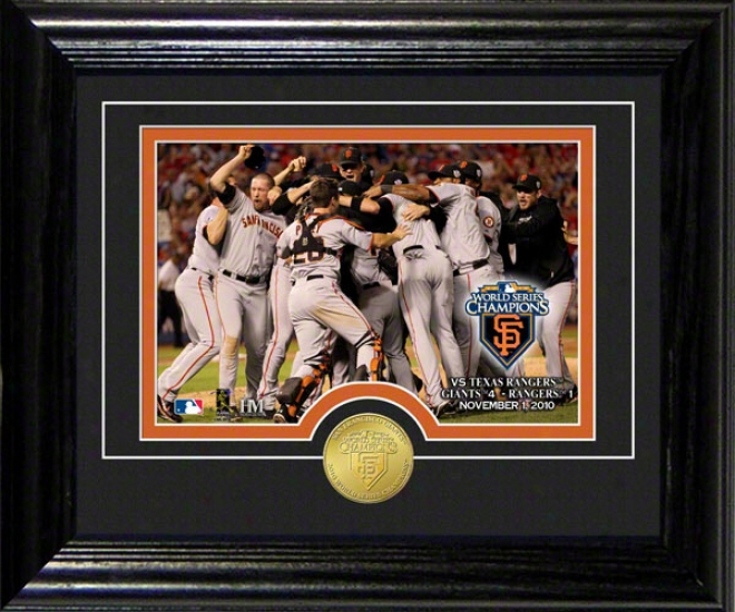 San Francisco Giants 2010 World Series Champions Celebration Desk Top Photograph
