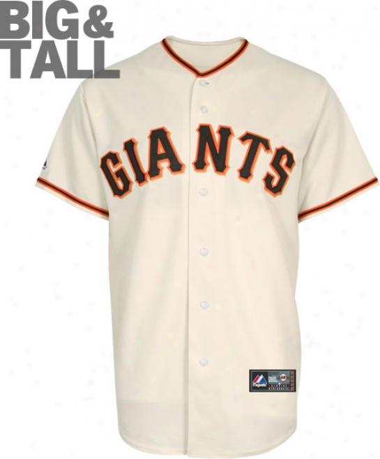 San Francisco Giants Big & Tall Hom Ivory Mlb Autograph copy Jersey