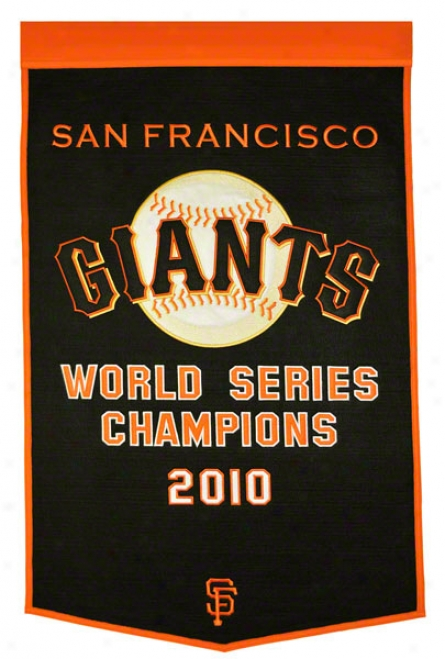 San Francisco Giants Dynasty Flag