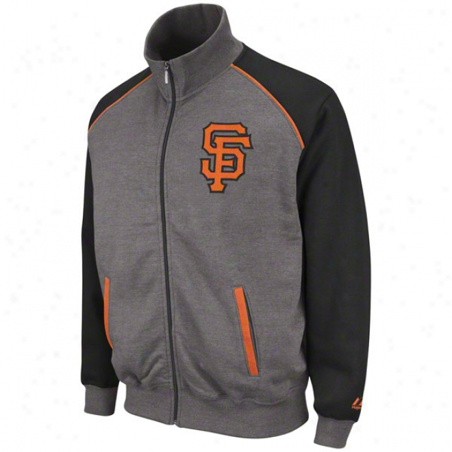 San Francisco Giants Granit eLegendady Full-zip Track Jacket