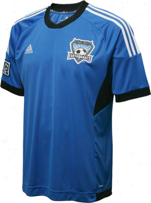 San Jose Earthquakes White Adidas Replica Away Jeesey
