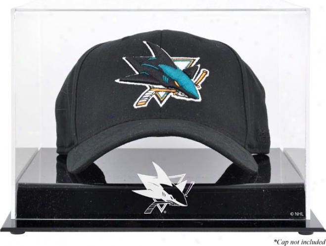 San Jose Sharks Acrylic Crown Logo Display Case