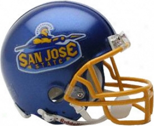 San Jose Stage Spartans Riddell Mini Helmet