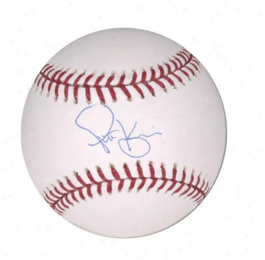 Scott Kazmir Autographed Baseball