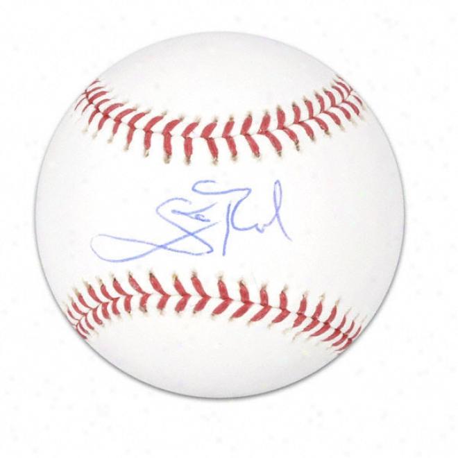 Scott Rolen Autographed Baseball