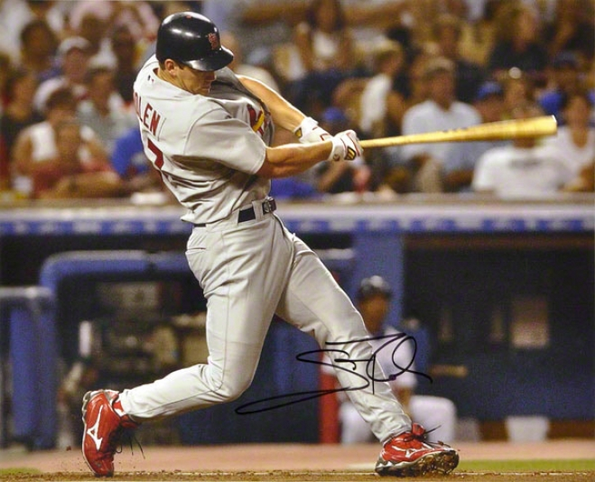 Scott Rolen St. Louis Cardinals Autographed 16x20 Photo