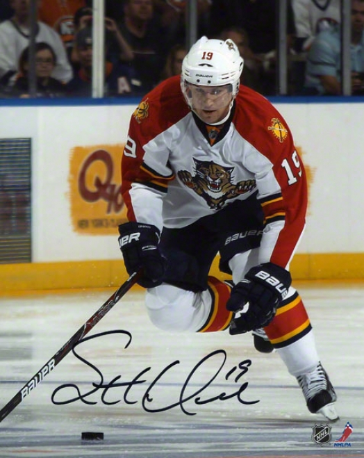 Scottie Upshall Autographed 8x10 Photograph  Details: Flprida Panthers
