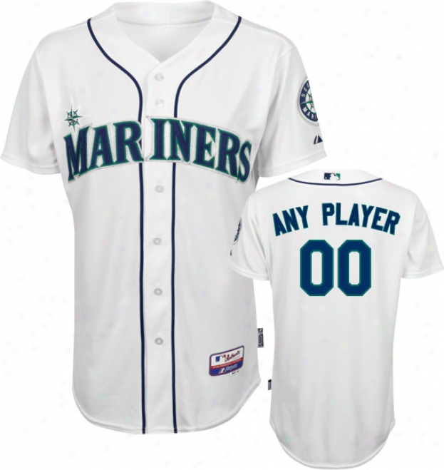 Seattle Mariners - Any Player - Authentic Cool Baseã¢â�žâ¢ Home White On-field Jersey
