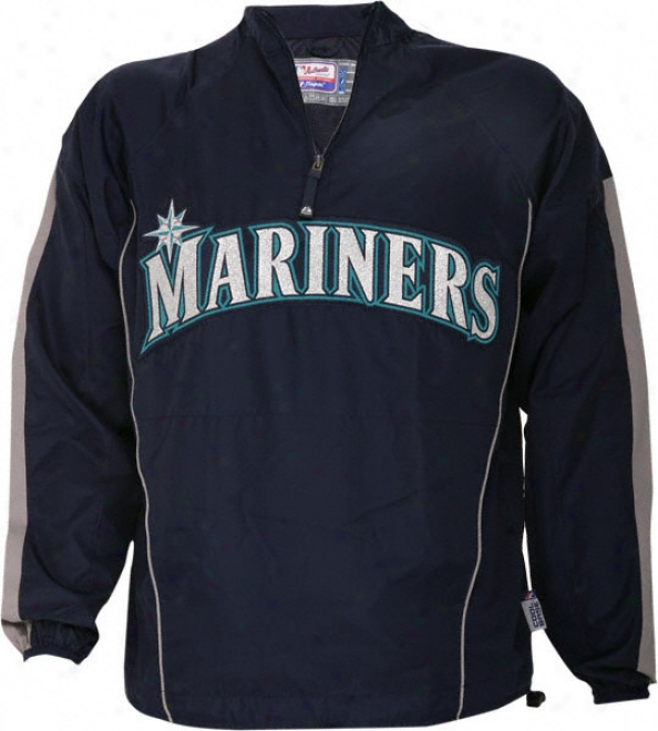 Seattle Mariners Authentic Collection Cool Base Gamer Jacket