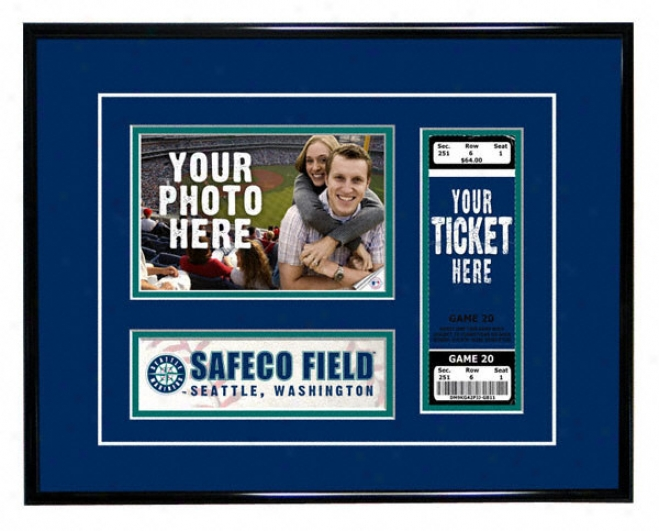 Seattle Mariners - Game Day-  Ticket Frame