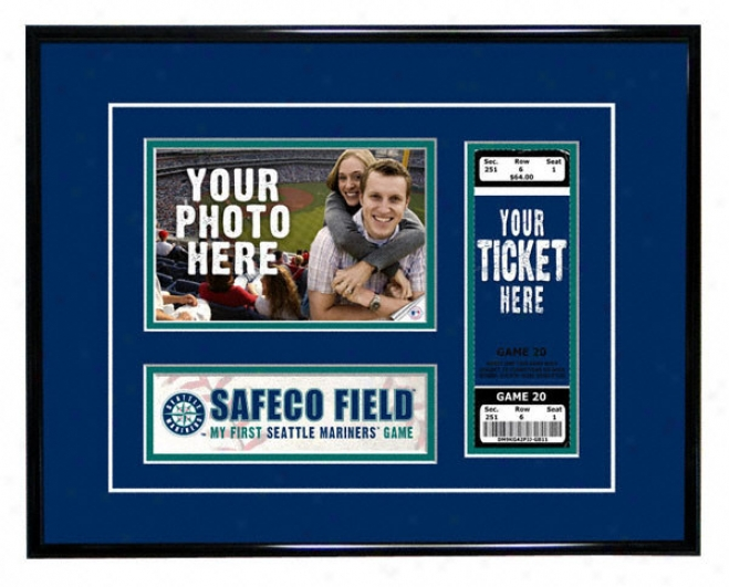 Seattle Mariners - My First Game - Ticket Frame