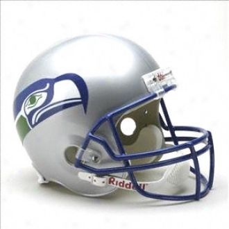 Seattle Seahawks 1983-2001 Deluxe Replica Riddell Throwback Full Size Helmet