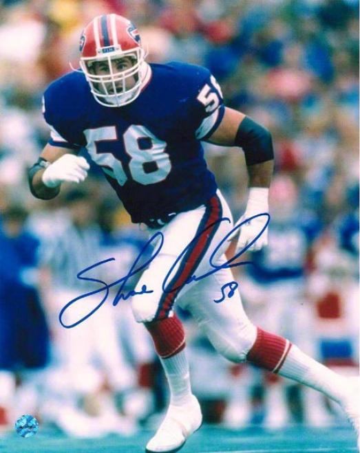Shane Conlan Autographed Buffalo Bills 8x10 Photo
