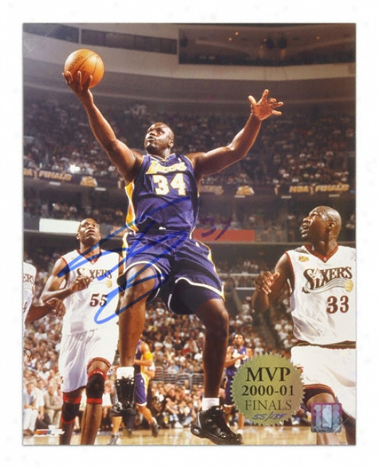 Shaauille O'neal Los Angeles Lakers 11x14 Autographed Photo