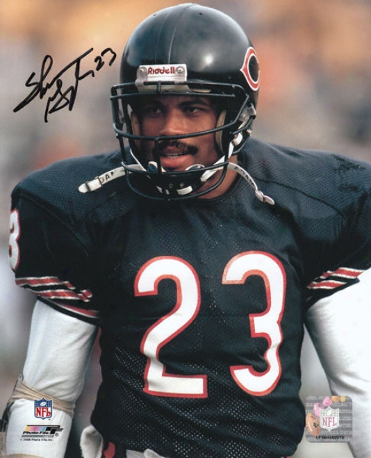 Shaun Gayle Chicago Bears Autographed 8xx10 Photograph