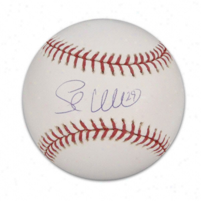 Shea Hillenbrand Autographed Baseball
