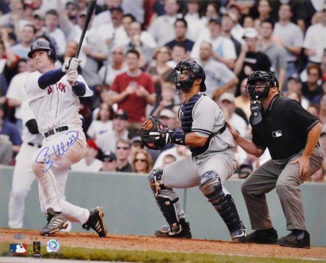 Shea Hillenbrand Bodton Red Sox Autographed Photograhp