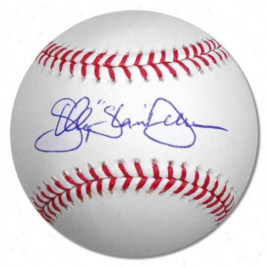 Shelley Duncan Autographed Baseball  Details: Slam Inscription