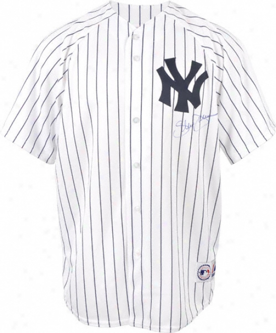 Shelley Duncan Autographed Jersey  Details: New York Yankees