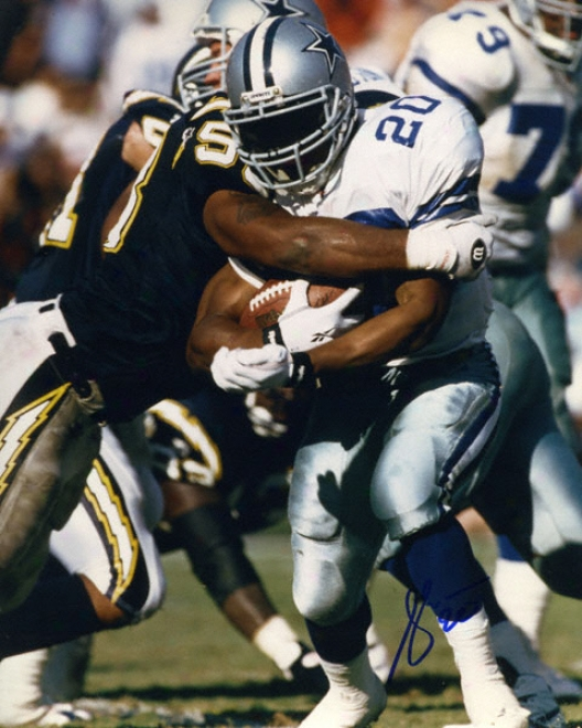 Sherman Williams Dallas Cowboys - Running - 8x10 Autographed Photograph