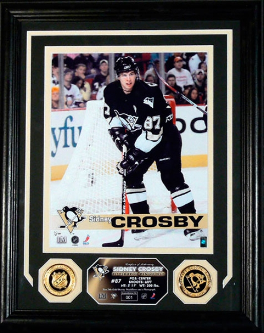 Sidney Crosby Pittsburgh Penguins Phooto Mint