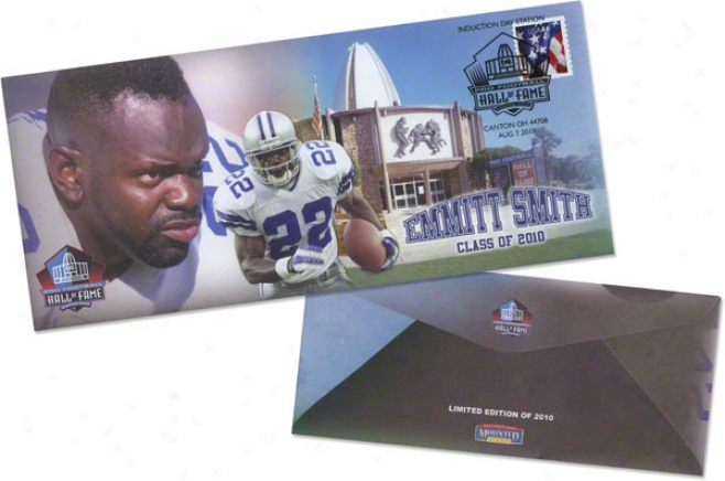 Smith, Emmitt (ho)f Unsigned Envelopes W/holder