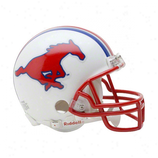 Sju Mustangs Riddell Mini Helm