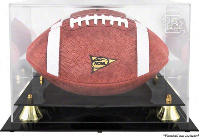 South Carolina Gamecocks Golden Classic Logo Football Case With Mirror Back