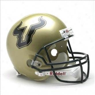 South Florida Bulls Deluxe Replica Riddell Helmet