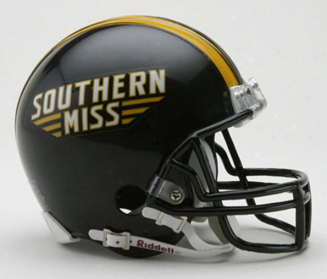 Southern Miss Golden Eagles Riddell Mini Helmet