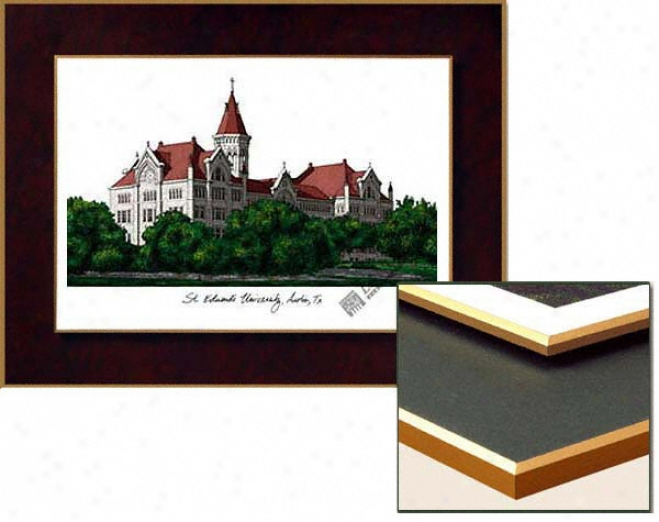 St. Edward's Hilltoppers Collegiate Laminated Lithograph