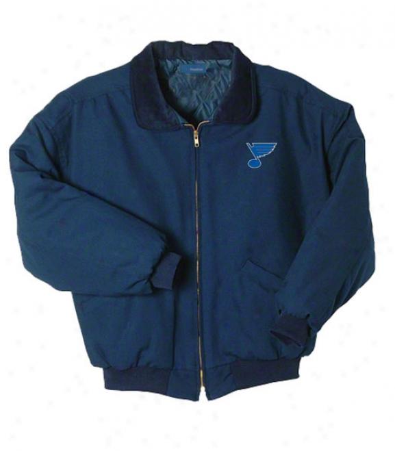 St. Louis Melancholy Jacket: Blue Reebok Saginae Jacket