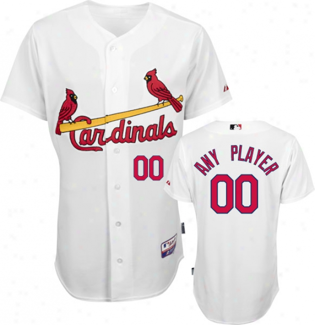 St. Louis Cardinals - Any Player - Authentiic Grow ~ Baseã¢â�žâ¢ Home White On-field Jersey