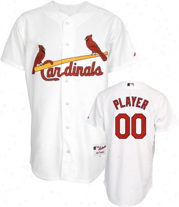 St. Louis Cardinals -any Player- Authentic Home White On-field Jersey