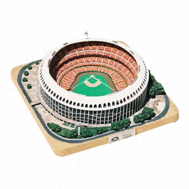 St. Louis CardinalsH istorical Busch Stadium Replica - Platinum Series