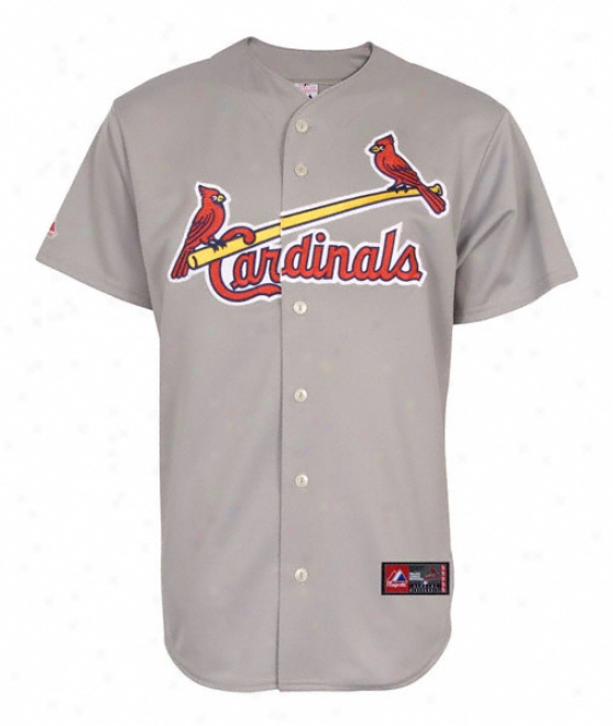 St. Louis Cardinals Road Mlb Replica Jefsey