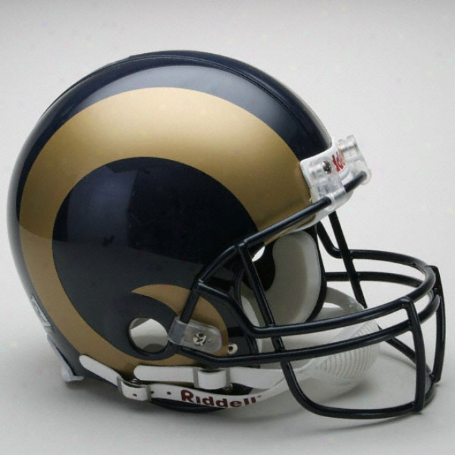 St. Louis Rams Authentic Pro Line Riddell Full Size Helmet